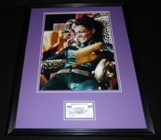 Eartha Kitt Signed Framed 16x20 Photo Display Batman Catwoman