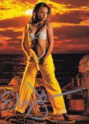 Echo Johnson Signed 1996 Image 2000 24k Gold Card Playboy Playmate January 1993