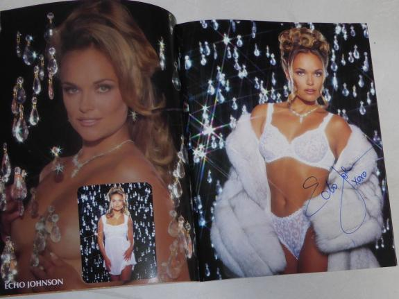 Echo Johnson Signed Imagine Lingerie Premier Issue Magazine PSA/DNA COA Playboy