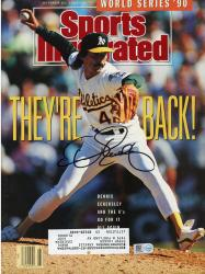 Dennis Eckersley Boston Red Sox Autographed Sports Illustrated They're Back Magazine