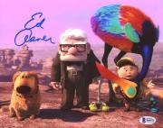 "Ed Asner Autographed 8"" x 10"" Up Carl, Russell, & Doug With Bird Photograph - Beckett COA"