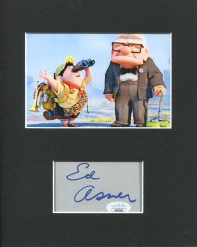 Ed Asner Disney Pixar Voice UP Carl Fredricksen Signed Autograph Photo Display