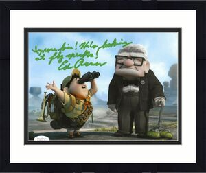 Ed Asner Disney signed Up 8x10 photo autographed Carl Fredricksen 6 JSA