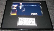Ed Asner Hawaii Five-O Signed Framed 11x14 Photo Display