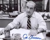 Ed Asner Lou Grant Mary Tyler Moore Show  Signed Autographed 8x10 Photo W/coa