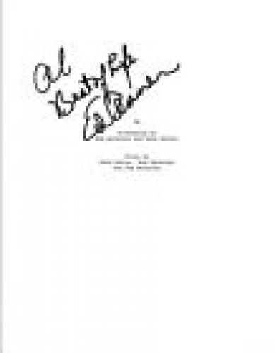 Ed Asner Signed Autographed UP Full Movie Script COA VD