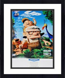ED ASNER signed (DISNEY UP) Movie 11X14 photo *Carl Fredricksen* BECKETT BAS #1
