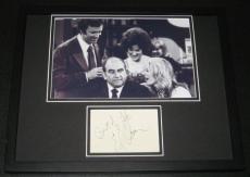 Ed Asner Signed Framed 11x14 Photo Poster Display