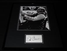 Ed Asner Signed Framed 16x20 Photo Poster Display Mary Tyler Moore Show