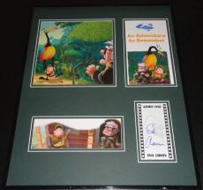 Ed Asner Signed Framed 16x20 UP Photo Display