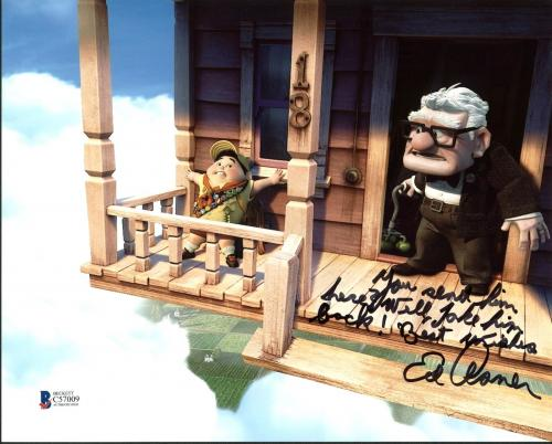 Ed Asner UP Signed 8X10 Photo Autographed BAS #C57009
