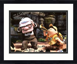 Ed Asner UP Signed 8X10 Photo Autographed PSA/DNA #AA43702