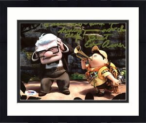 Ed Asner UP Signed 8X10 Photo Autographed PSA/DNA #AC22748