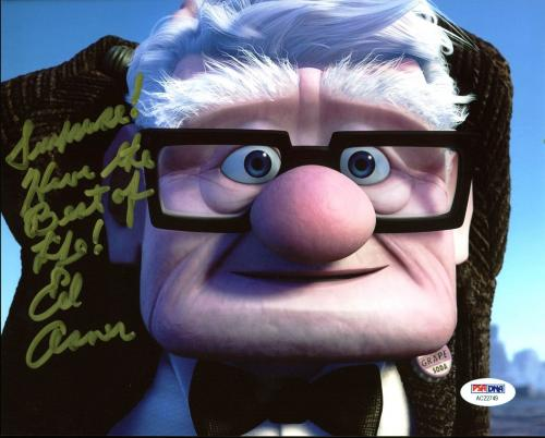 Ed Asner UP Signed 8X10 Photo Autographed PSA/DNA #ACC22749