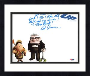 Ed Asner Up Signed 8X10 Photo Autographed PSA/DNA #Z92031