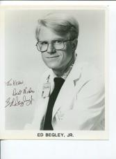 Ed Begley Jr Battlestar Galactica Spinal Tap St Elsewhere Signed Autograph Photo