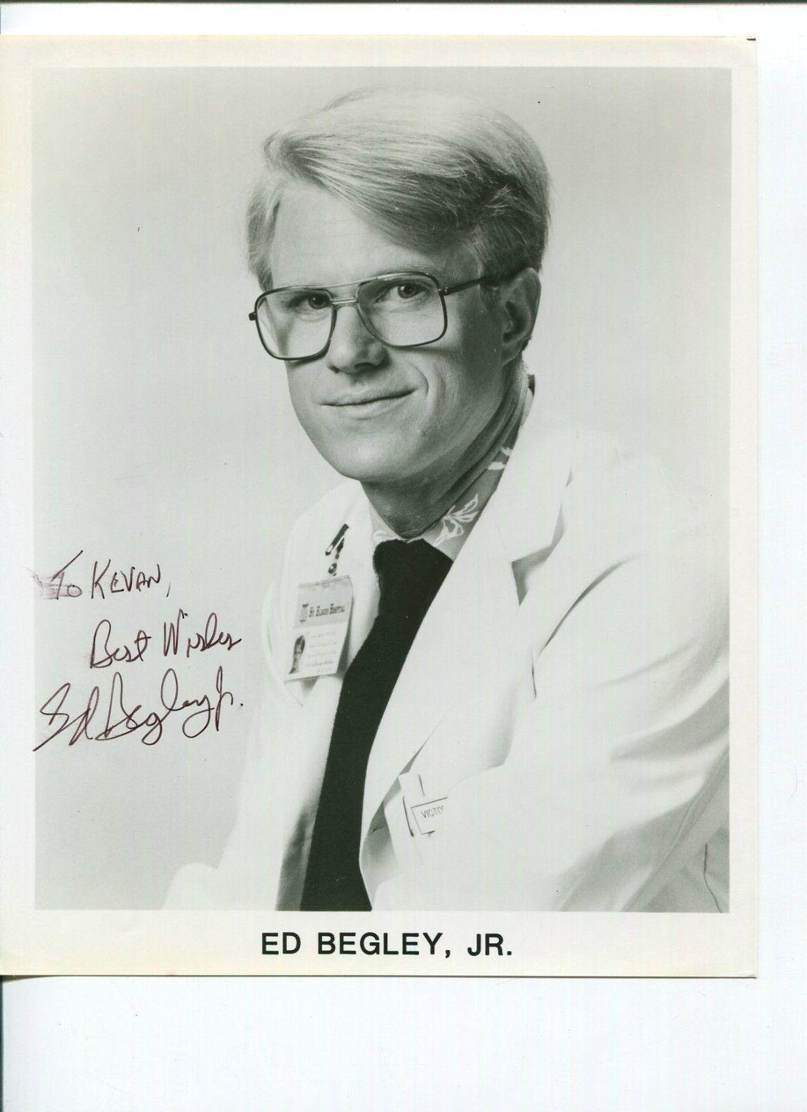 Ed Begley Jr Battlestar Galactica Spinal Tap St Elsewhere Signed ...