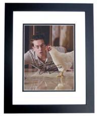 Ed Helms Signed - Autographed THE HANGOVER 8x10 Photo BLACK CUSTOM FRAME
