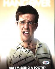 Ed Helms The Hangover Signed 8X10 Photo Autographed PSA/DNA #AA83809