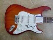 Ed King Lynyrd Skynyrd Signed Guitar Sweet Home Alabama Song Title PSA Certified