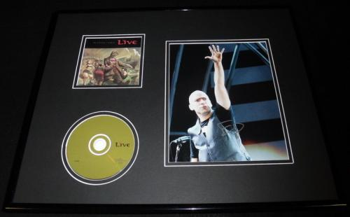Ed Kowalczyk Signed Framed 16x20 Live Throwing Copper CD & Photo Display