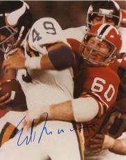 Ed  Marinaro      Minnesota  Vikings   Signed Autographed 8x10 Photo  W/ Coa