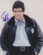 Signed Ed Marinaro Picture - 8x10 Joe Coffey Hill Street Blues PSA DNA