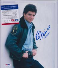 Ed Marinaro Signed Autograph Auto 8x10 Psa Dna Certified