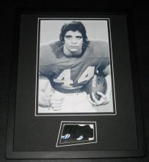 Ed Marinaro Signed Photograph - Framed 11x14 Display Cornell Hill Street Blues