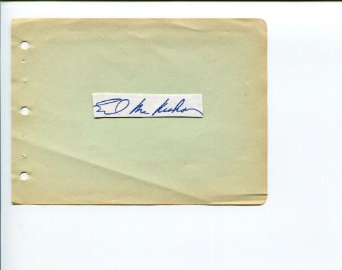 Ed McMahon The Tonight Show Star Search TV's Bloopers Signed Autograph