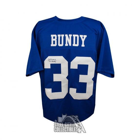 Ed O'Neill Autographed Al Bundy Married With Children Football Jersey - JSA COA