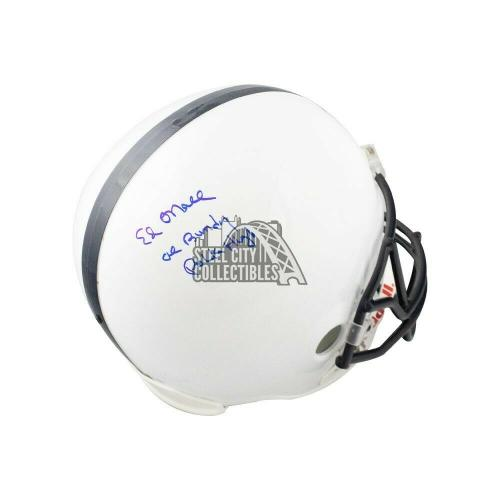 Ed O'Neill Autographed Married With Children Full-Size Football Helmet - BAS COA