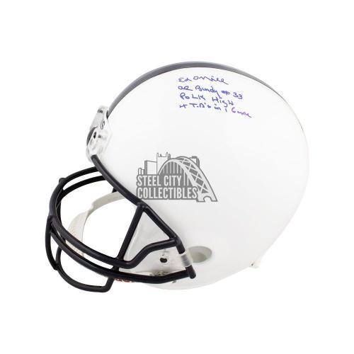 Ed O'Neill Autographed Married With Children Full-Size Football Helmet - JSA COA