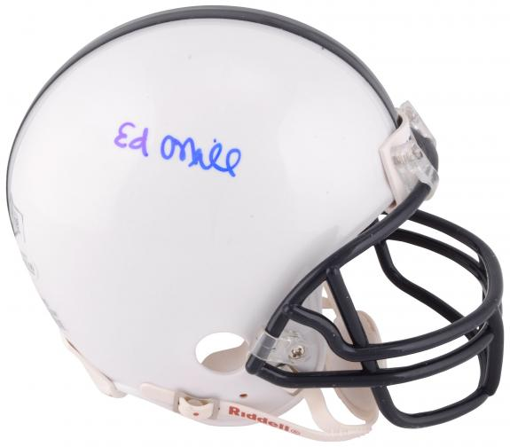 Ed O'Neill Married with Children Autographed Mini Helmet - BAS