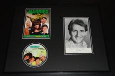 Ed O'Neill Signed Framed Vintage Photo Note & DVD Display Married W Children