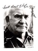 Ed Asner-signed photo-pose 17