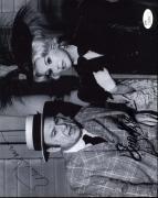 Eddie Albert Eva Gabor Green Acres Signed Jsa 8x10 Photo Autograph