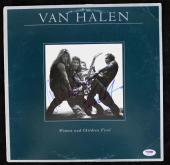 Eddie & Alex Van Halen Women & Children 1St Signed Album W/ Vinyl PSA #S04536