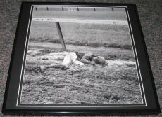 Eddie Arcaro 1959 Belmont Framed 12x12 Poster Photo