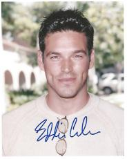 "EDDIE CIBRIAN - Best Known for His TV Role as COLE DESCHANEL on ""SUNSET BEACH"" Signed 8x10 Color Photo"