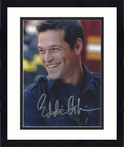 """EDDIE CIBRIAN - Best Known for His TV Role as COLE DESCHANEL on """"SUNSET BEACH"""" Signed 8x10 Color Photo"""