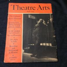 Eddie Dowling D.W. Griffith Glass Menagerie 1945 Theatre Arts Magazine
