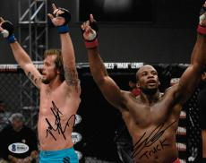 Eddie Gordon & Mike King Signed 8x10 Photo BAS COA UFC The Ultimate Fighter 19