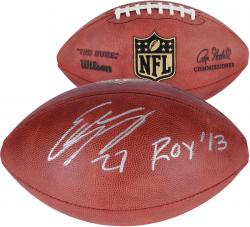 Eddie Lacy Green Bay Packers Autographed Duke Pro Football with ROY 13 Inscription