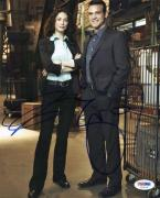 Eddie Mcclintock & Joanne Kelly Warehouse 13 Signed 8X10 Photo PSA/DNA #V29150