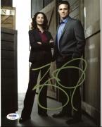 Eddie McClintock Warehouse 13 Signed 8X10 Photo PSA/DNA #AC45059