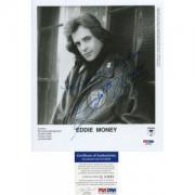 Eddie Money Autographed 8x10 Photo PSA