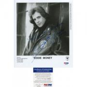 Eddie Money Autographed 8x10 Photo PSA