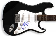 Eddie Money Autographed Signed Guitar & Proof PSA/DNA Certified