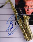 Eddie Money Autographed Signed Saxophone Photo & Proof